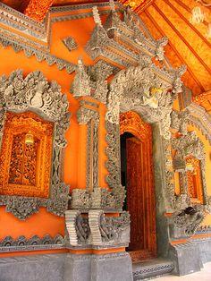 bali - doorway