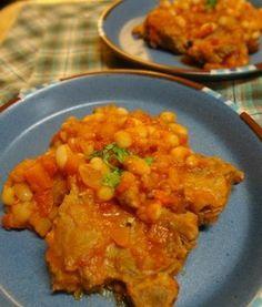 豚肉と白インゲン豆のカスレ風煮込み