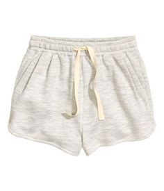 Short Sweatshorts | Light gray | Ladies | H&M US