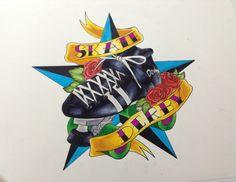 Roller Derby Art | Roller Derby Tattoos http://evol-darkness.deviantart.com/art/Roller ...