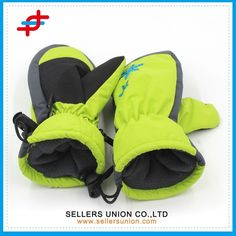 Factory Directly China New Product Custom Durable Winter Sport Glove For Kids Skiing #gloves_ski, #Products