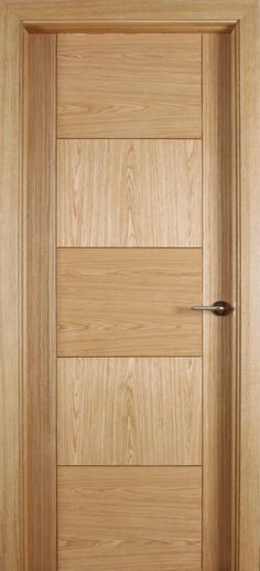 Monza White Oak Door (40mm) | Internal Doors | Oak Doors