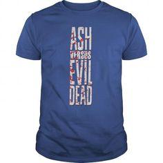 I Love  Ash vs evil dead  T shirts