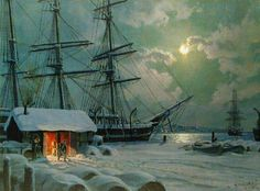 Underpaintings: Color Palettes: John Stobart (b. 1929)