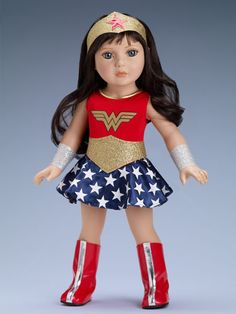 """18"""" WONDER WOMAN Outfit - Expected to arrive 4th quarter! 