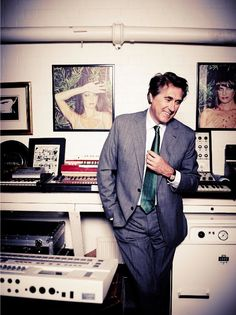 See Bryan Ferry in Fanfair November 2014, and listen to his choice tracks on VF.com