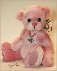 Cute pink teddy bear 4dae2936e98c1282efa0bf0ae4b2319d.jpg (400×492)