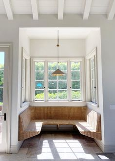 Be prepared to be so over this banquette by the time we actually shoot this house. because it's so freakin pretty I HAVE to show you a… Interior Exterior, Interior Design, Dining Nook, Dining Chairs, Banquette Seating, Amber Interiors, Home Decor Inspiration, Kitchen Inspiration, Decor Ideas