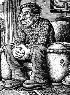 Robert Crumb by himself (underground comics)