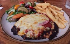 Chicken parma from The Vault, Yarraville