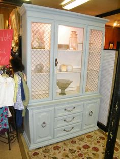 most incredible china cabinet--$395