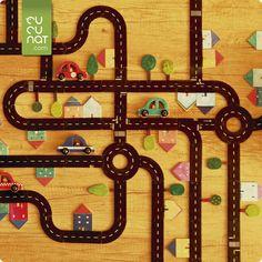 ¡Imagina la carretera más larga del mundo! ¿Seréis capaces de construirla? Para superar el reto deberes utilizar todas las piezas. Edad recomendada: a partir de 3 años. Advent Calendar, Symbols, Holiday Decor, Art, World, Childhood Games, High Road, Art Background, Advent Calenders