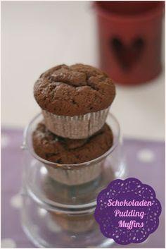 Zuckerschnuten-Blog: Sehen schlicht aus - sind geschmacklich aber der Hammer: Schokoladenpudding-Muffins