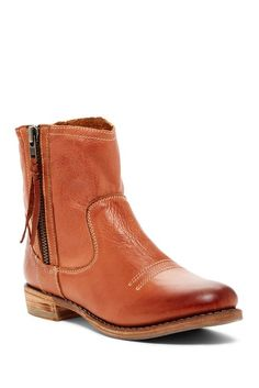 Image of Blackstone Side Zip Leather Boot Leather Boots 5356672c95c66