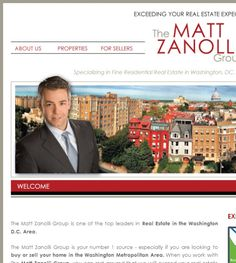 The Matt Zanolli Grouplocated at 1918 18th St NW, Washington, DC 20009 offers Real Estate Services, Real Estate Agents.