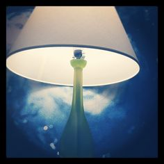 The lamp of the Blueberry Room of Hotel Indigo Dallas