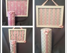 BEST SELLER-You design wood Bow holder/bow by MyGirlsAccessories