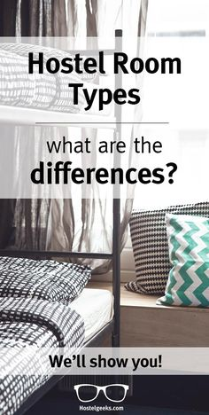 Hostel room types - what are the differences? - Hostelgeeks