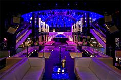 LIV Nightclub, at the Fontainebleau Miami Beach Hours: 11pm-5am    4441 Collins Ave, Miami Beach 33140; Trendy, opulent club in the Fontainebleau (where we have 3 vacation rentals available), where DJs spin the night away at parties that attract celebrities and many VIPs... Check out our vacation rentals here! http://www.miamihabitat.com/apartments.asp