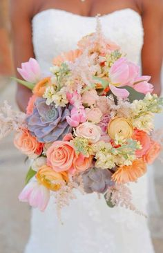 These flowers are gorgeous! Swooon.