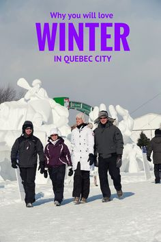 Winter in Quebec City. It's such a charming place!