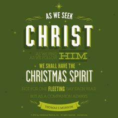 17 Incredibly Inspirational Quotes About Christmas | Lds org ...