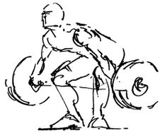 Image result for weightlifting art