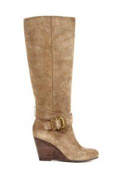 Valentina wedge boot - Mushroom @Miranda ❤