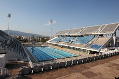 2004 Athens Olympic Venues - Olympic swimming pool, at the Olympic complex