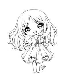 Teej Chibi Lineart Commission by YamPuff on DeviantArt Chibi Coloring Pages, Cool Coloring Pages, Adult Coloring Pages, Coloring Books, Anime Lineart, Copics, Digital Stamps, Line Drawing, Illustrations