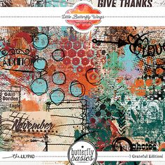 Butterfly Basics - Grateful Edition {paint}