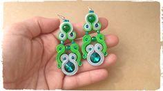 Soutache earrings...kolczyki sutasz by VenoraArt