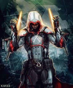 The epicness is overloaded... Mass effect meets Assassins Creed - awesome