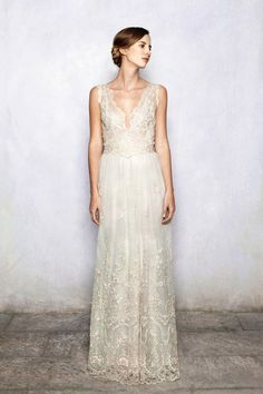 Hair long and flowing with flower wreath plus jewellery for more of a boho look.... Luisa Beccaria