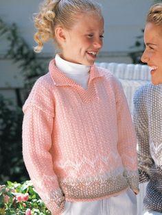 Casual Pullover | Yarn | Free Knitting Patterns | Crochet Patterns | Yarnspirations