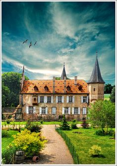 Osthoffen, Alsace, France