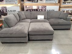 Grey L Shaped Couch Piece Modular Fabric Sectional Costco Living Costco . NEW Corner Sofa Bed With Storage Black Fabric Grey . Furniture: Comfortable Living Room Sofas Design By Costco . Home and Family Grey Sectional Sofa, Living Room Sectional, Cozy Living Rooms, Home Living Room, Apartment Living, Living Room Designs, Living Room Decor, Living Room With Carpet, Gray Couch Living Room