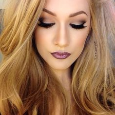 Because the white line on top of the eyelid for a dramatic smoky eye is a great look to intensify it.