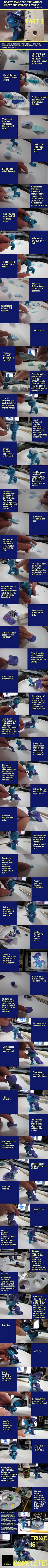 TUTORIAL PART 2: The Making of Mini Trixie by minnichi.deviantart.com on @deviantART