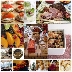 EmilyStyle: Holiday Party No. 6: Christmas Brunch for 35 Guests
