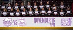 Hershey Bears to Host Hockey Fights Cancer American Hockey League, Sports Fights, Hershey Bears, Games W, National Hockey League, Yummy Food, Dessert, Delicious Food, Desserts