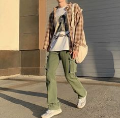 Street Style Outfits Men, Stylish Mens Outfits, Casual Outfits, Indie Outfits, Retro Outfits, Fashion Outfits, Indie Fashion Men, Streetwear Fashion, Looks Cool