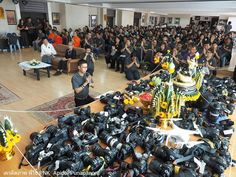 Photography Students in Thailand Give Thanks with an Altar of DSLR Gear
