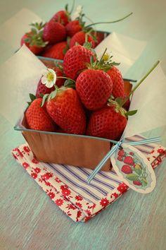 prettiest strawberries ever!