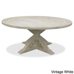 La Phillippe Reclaimed Wood Round Dining Table - Free Shipping Today - Overstock.com - 15416748 - Mobile