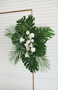 wedding flowers Modern Tropical Wedding - Inspired By This Tropical Wedding Decor, Tropical Home Decor, Modern Tropical, Tropical Houses, Tropical Interior, Tropical Furniture, Tropical Weddings, Tropical Flowers, Tropical Flower Arrangements