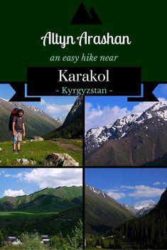 Altyn Arashan - an easy hike near Karakol, Kyrgyzstan