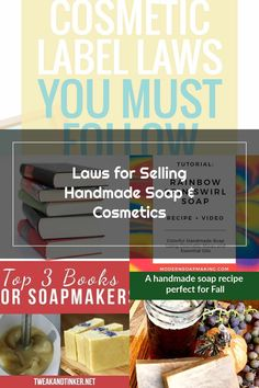 Handmade Soap Recipes, Handmade Soaps, Cosmetic Labels, Lotions, Hair Products, Deodorant, Food Videos, Nail Polish, Canada