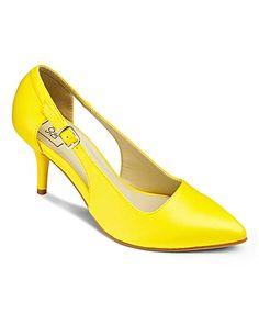 526de16c2 Sole Diva Cut Out Court Shoe E Fit