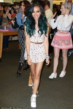 Jade Thirlwall..... I want this color hair